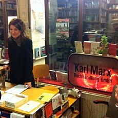 Anna Elisabeth Mayer bei Karl Marx