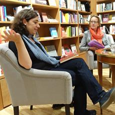 Inka Parei in der Buchhandlung Weltenleser